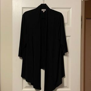 Women's Plus Size Black Lightweight Jacket (2X)